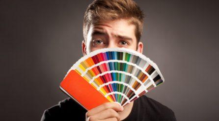 Diferenças entre reflexo das cores Flúor e CMYK